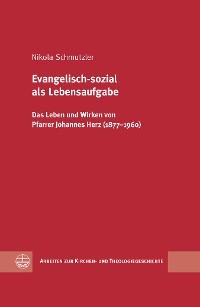 Cover Evangelisch-sozial als Lebensaufgabe