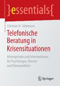 Cover Telefonische Beratung in Krisensituationen