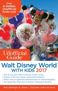 Cover The Unofficial Guide to Walt Disney World with Kids 2017