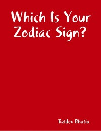 Cover Which Is Your Zodiac Sign?
