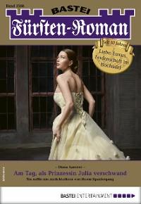 Cover Fürsten-Roman 2566 - Adelsroman