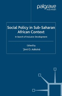 Cover Social Policy in Sub-Saharan African Context