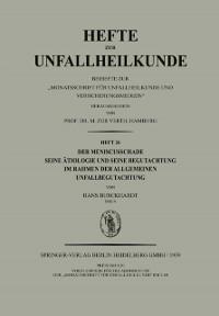 Cover Der Meniscusschade