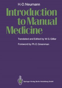 Cover Introduction to Manual Medicine