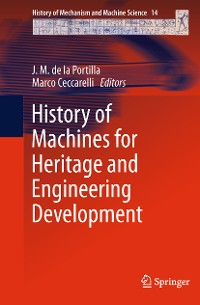 Cover History of Machines for Heritage and Engineering Development