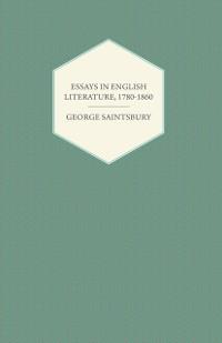 Cover Essays in English Literature, 1780-1860