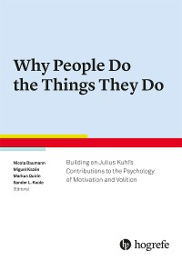 Cover Why People Do the Things They Do