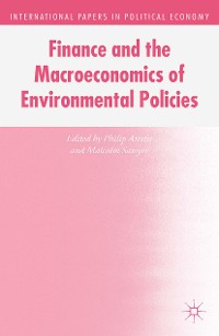 Cover Finance and the Macroeconomics of Environmental Policies
