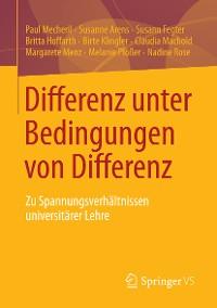Cover Differenz unter Bedingungen von Differenz