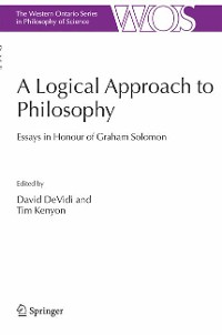 Cover A Logical Approach to Philosophy