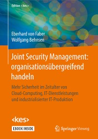 Cover Joint Security Management: organisationsübergreifend handeln
