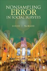 Cover Nonsampling Error in Social Surveys
