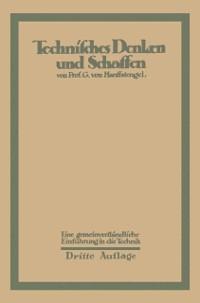 Cover Technisches Denken und Schaffen
