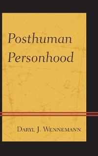 Cover Posthuman Personhood
