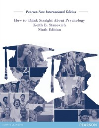 Cover How To Think Straight About Psychology: Pearson New International Edition PDF eBook