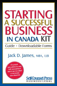 Cover Starting a Successful Business in Canada Kit