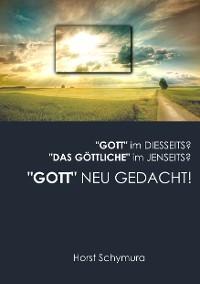 """Cover """"Gott"""" neu gedacht!"""