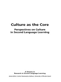 Cover Culture as the Core