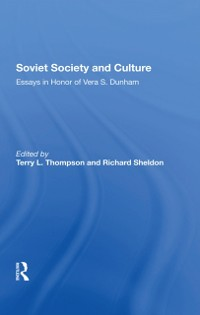 Cover Soviet Society And Culture