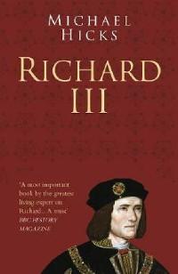 Cover Richard III: Classic Histories Series