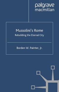 Cover Mussolini's Rome