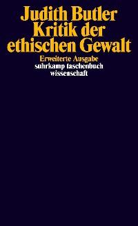 Cover Kritik der ethischen Gewalt