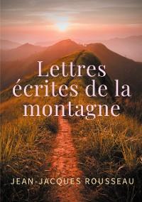 Cover Lettres écrites de la montagne