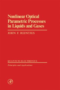 Cover Nonlinear Optical Parametric Processes in Liquids and Gases