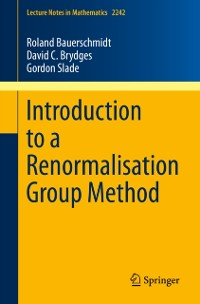 Cover Introduction to a Renormalisation Group Method