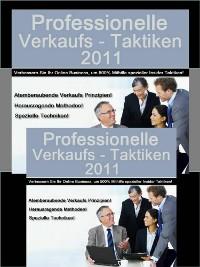 Cover Professionelle Verkaufstaktiken