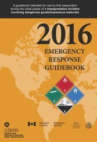 Cover Emergency Response Guidebook