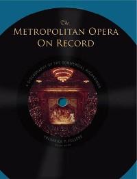 Cover The Metropolitan Opera on Record