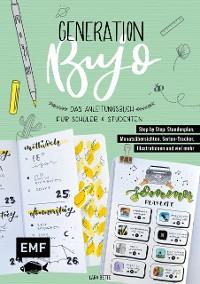 Cover Generation BuJo – Das Anleitungsbuch für Schüler und Studenten