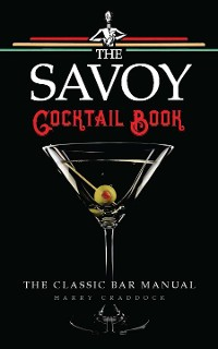 Cover The Savoy Cocktail Book