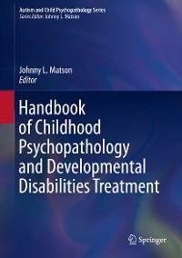 Cover Handbook of Childhood Psychopathology and Developmental Disabilities Treatment
