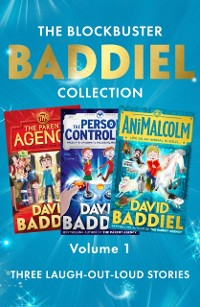 Cover Blockbuster Baddiel Collection: The Parent Agency; The Person Controller; AniMalcolm