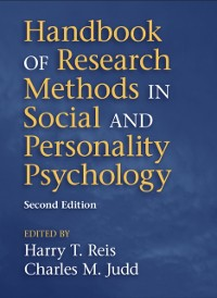 Cover Handbook of Research Methods in Social and Personality Psychology