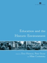 Cover Education and the Historic Environment