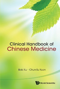 Cover Clinical Handbook Of Chinese Medicine