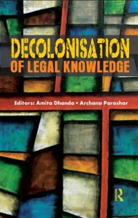 Cover Decolonisation of Legal Knowledge