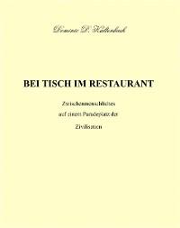 Cover BEI TISCH IM RESTAURANT