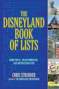 Cover The Disneyland Book of Lists
