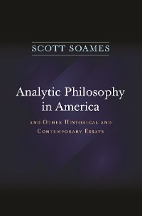 Cover Analytic Philosophy in America