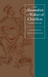 "Cover The ""Alexandreis"" of Walter of Chatilon"