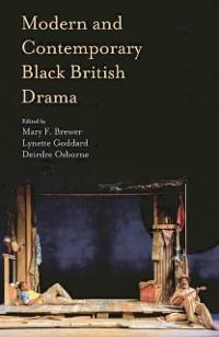 Cover Modern and Contemporary Black British Drama