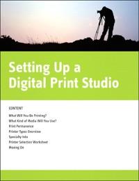 Cover Setting Up a Digital Print Studio