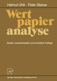Cover Wertpapieranalyse