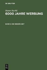 Cover Die neuere Zeit