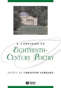 Cover A Companion to Eighteenth-Century Poetry