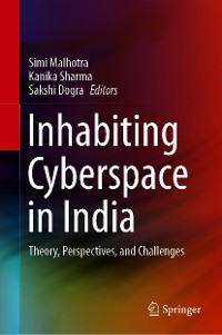 Cover Inhabiting Cyberspace in India